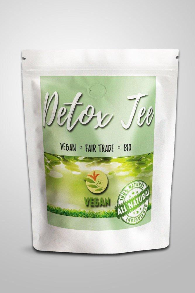 veganer bio detox tee 100 gramm www amzprodukt. Black Bedroom Furniture Sets. Home Design Ideas